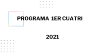 Programa primer cuatrimestre 2021